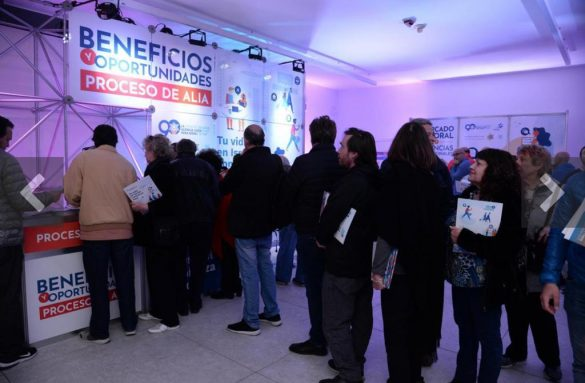 Massive attendance of Argentinians to an event about Aliah
